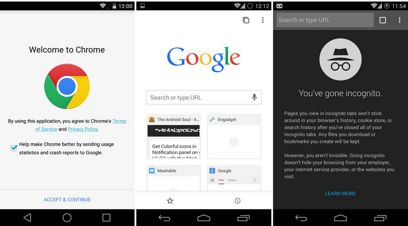 how to resume download in chrome android