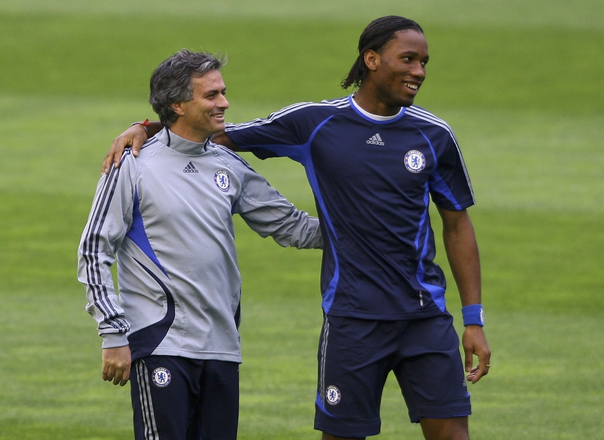 Jose Mourinho and Didie