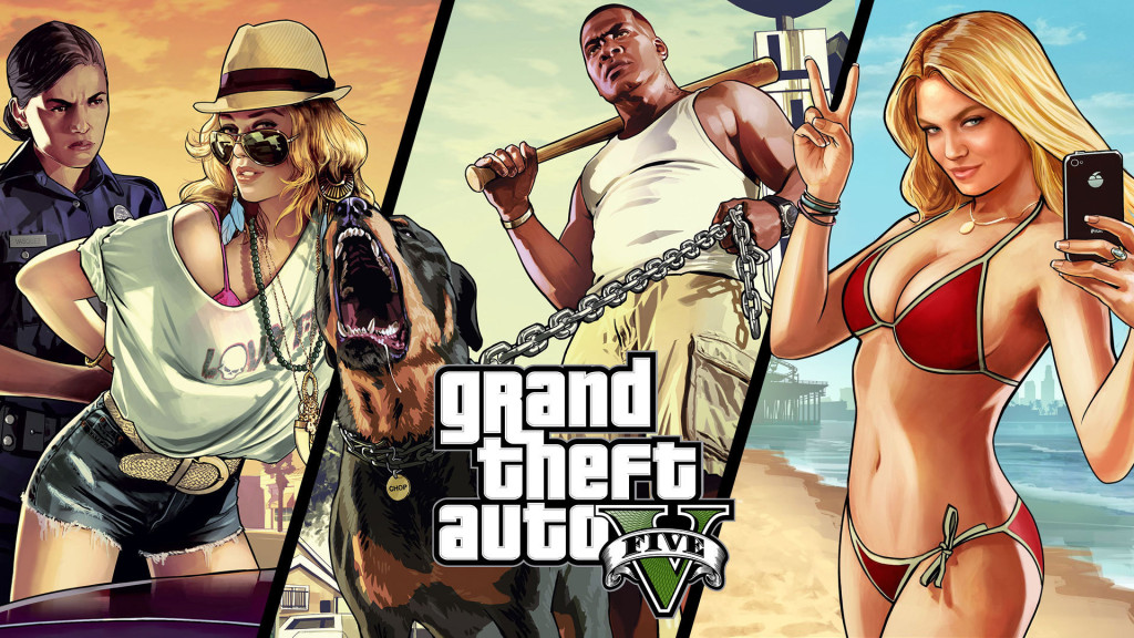 GTA 5 Mods: CJ From GTA San Andreas vs CJ From GTA 5 – Art Work in HD