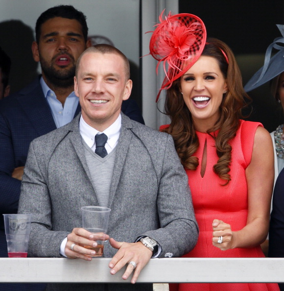 Jamie O'Hara and Danielle Lloyd