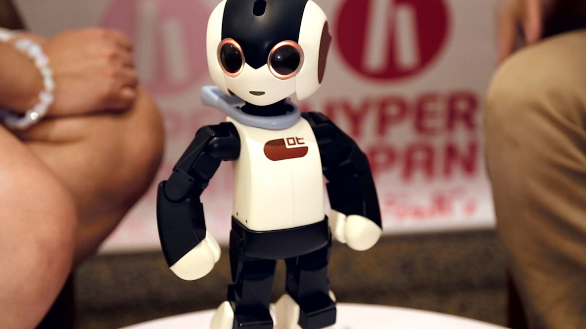 Meet Robi: The Robot that Could One Day Replace Your Smartphone
