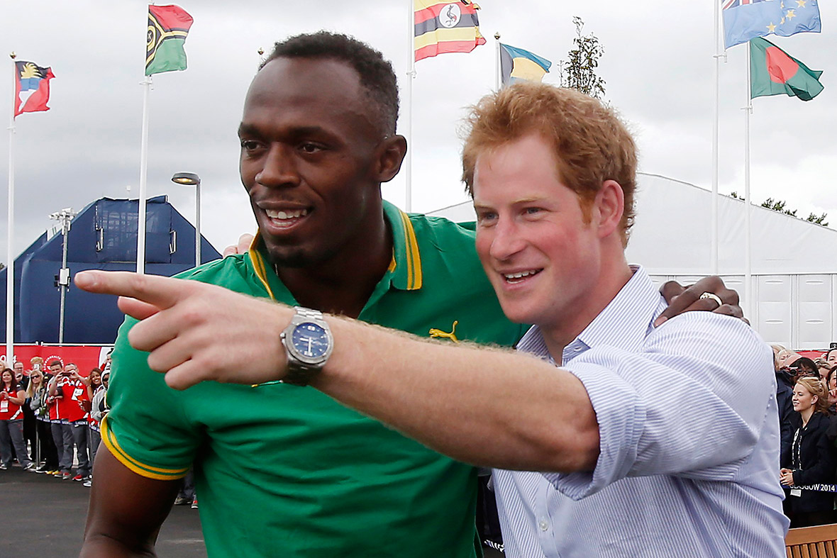 commonwealth games prince harry