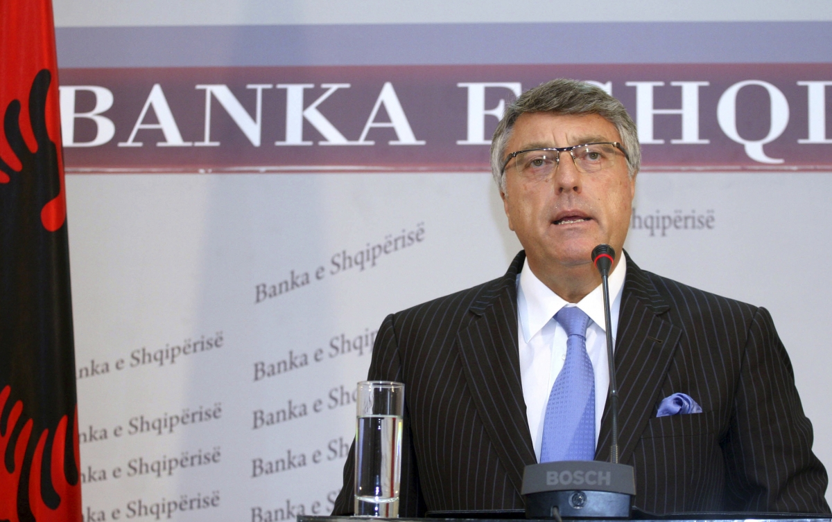 Albania's central bank Governor Ardian Fullani