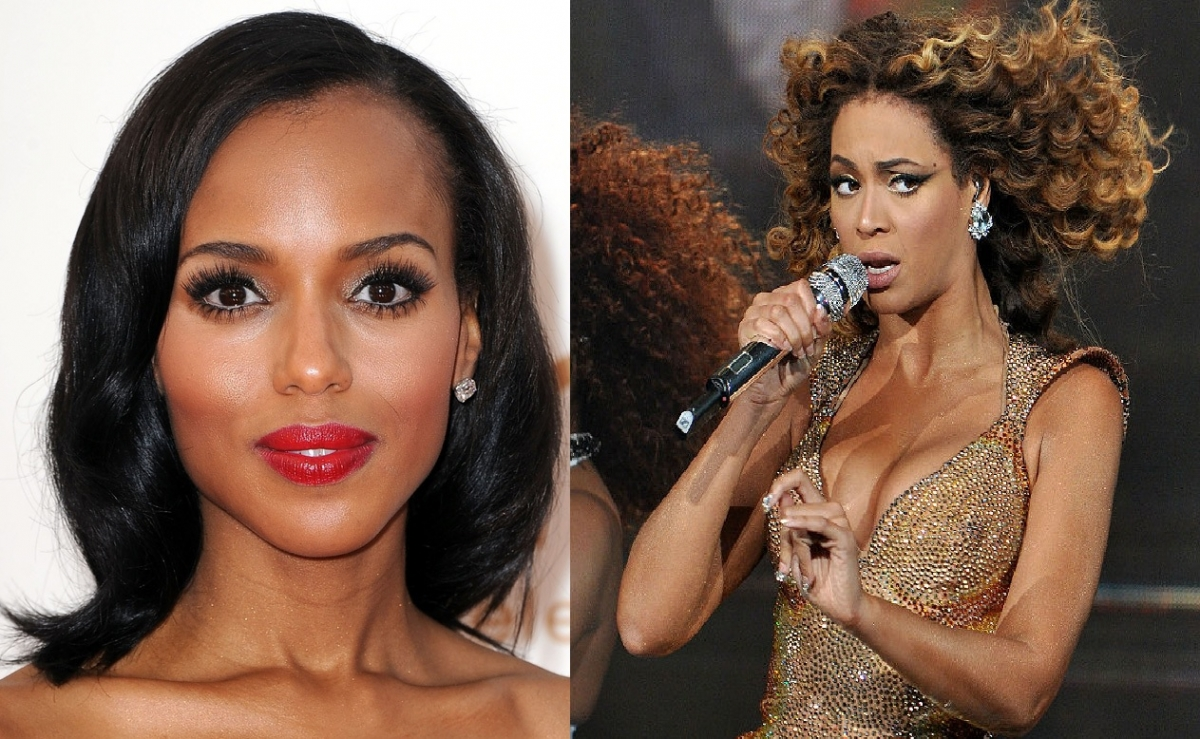 Kerry Washington & Beyonce