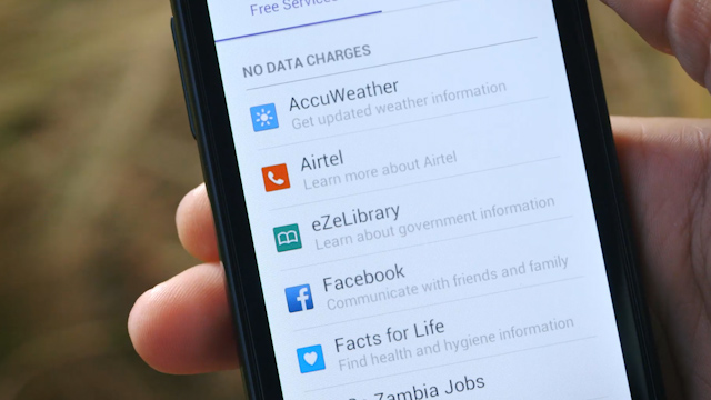 Facebook's Internet.org App Brings Free Access to Online Services in Zambia
