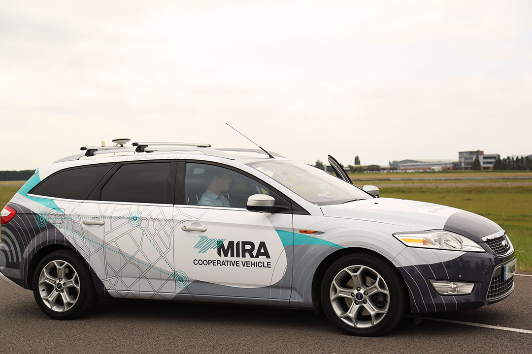 Mira self-driving car