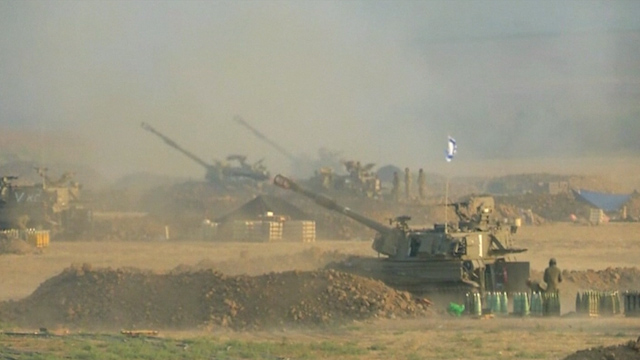 Israel Resumes Gaza Shelling as Truce Crumbles