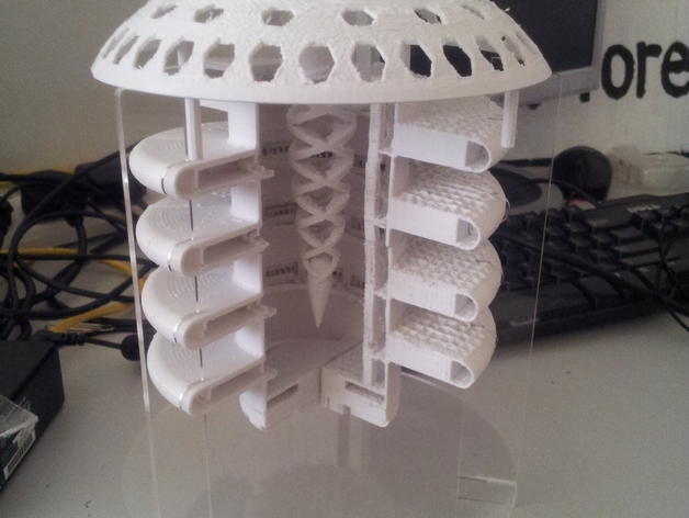 3D-printed Martian base 1