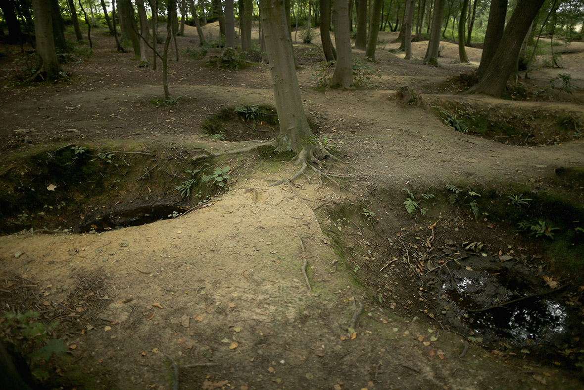 ypres bomb craters