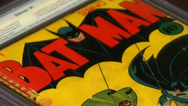 Comics Owned by Batman Co-Creator Bob Kane hit the Auction Block