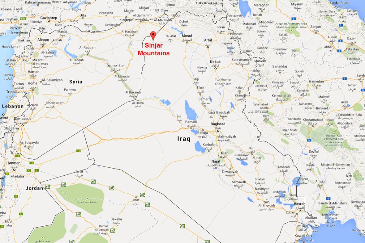 Mesopotamia World Map Iraqi Yazidis Starving...