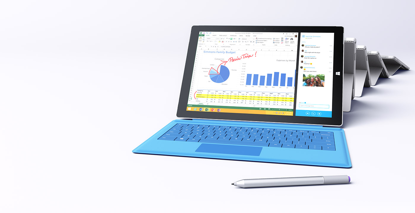 Microsoft Surface Pro 3 to Arrive in 25 More Countries, Available for Pre-Orders