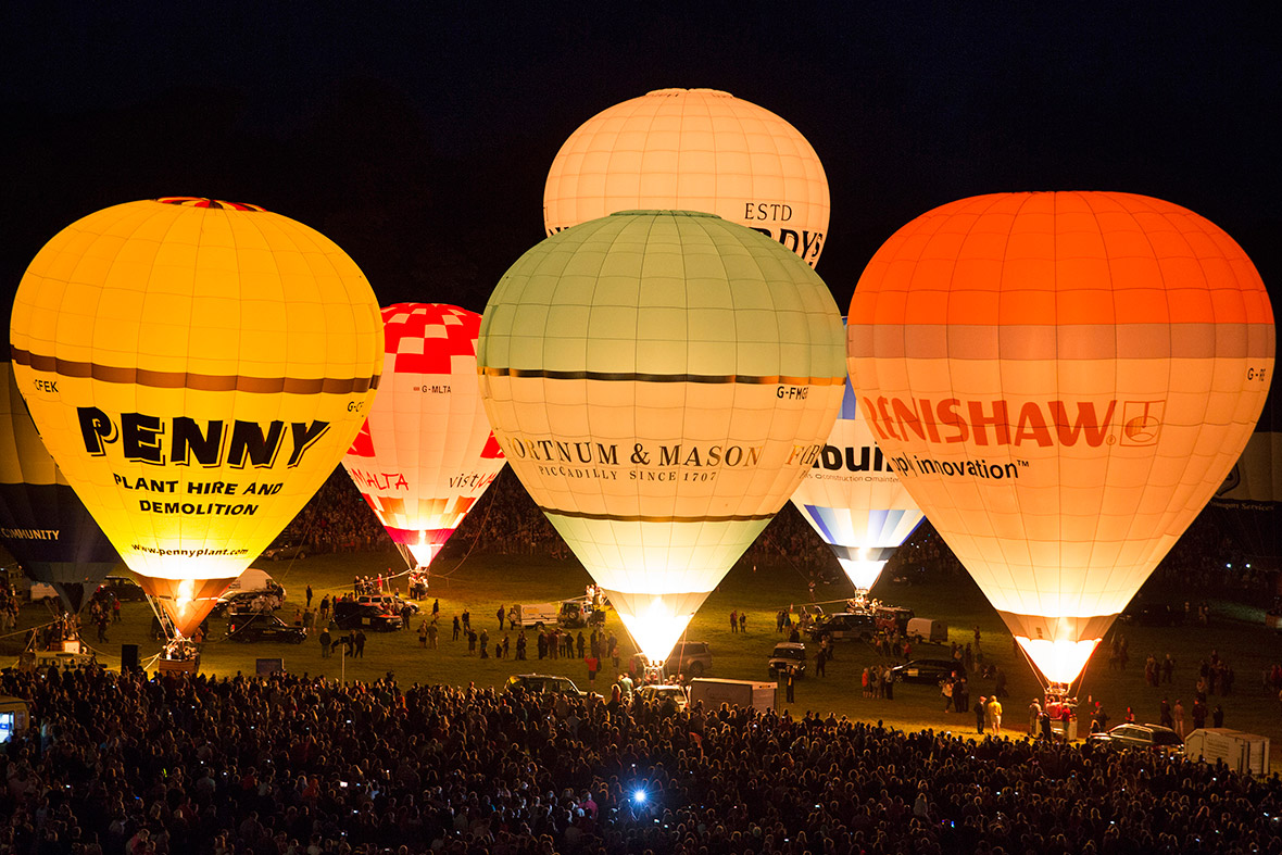 Bristol Balloon Fiesta Night Glow Bristol Balloon Fiesta