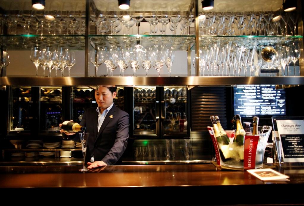 Japan Champagne Bar