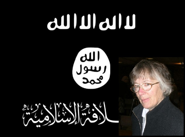 Sister Christine Frost tore down Isis-style flag from Will Crooks estate in Tower Hamlets