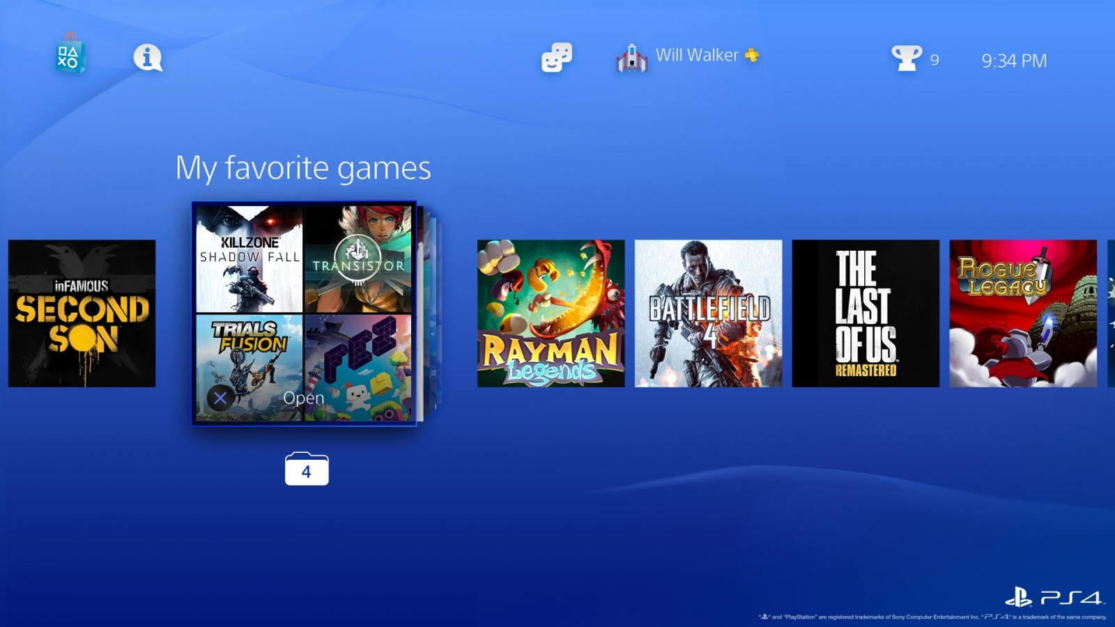 how to delete games from ps4 profile