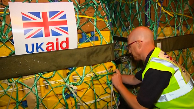 Britain Dispatches Emergency Aid for Displaced Iraqis