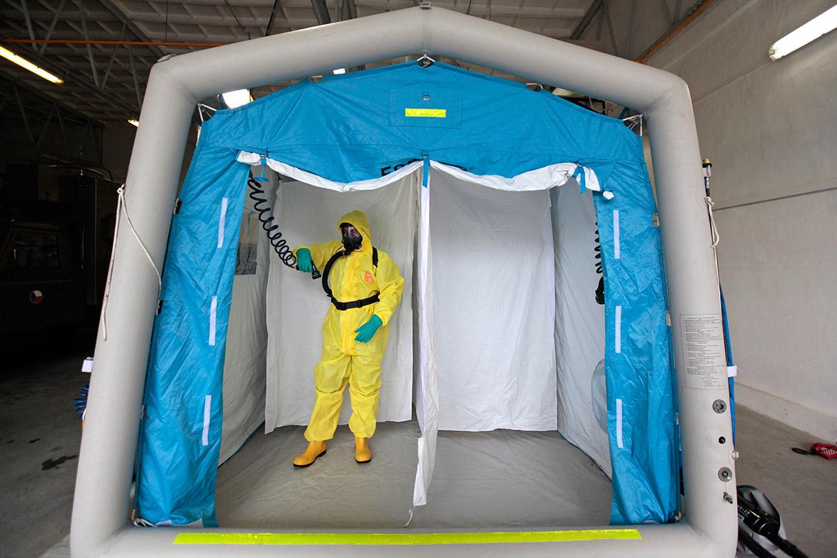 ebola checo