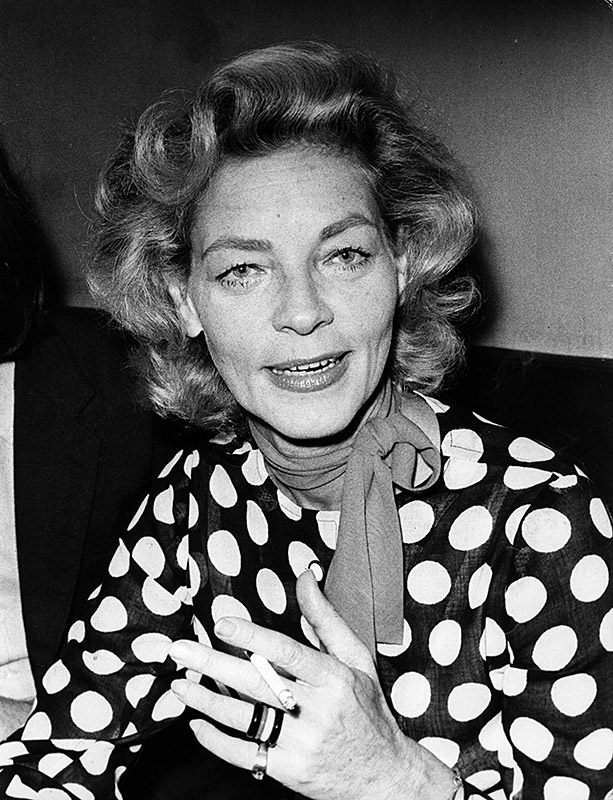 Lauren Bacall interview young