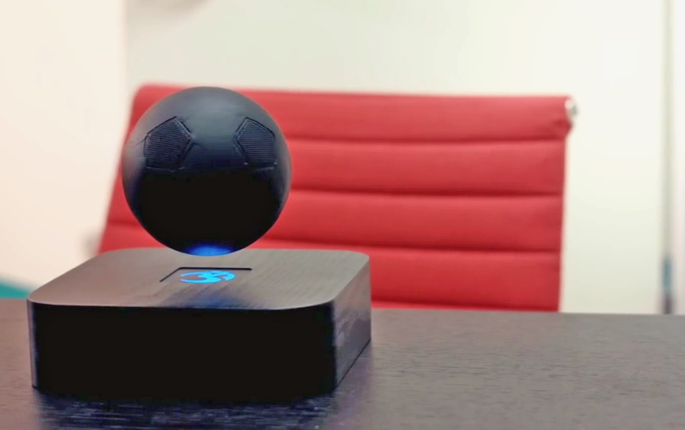 Om/One - the floating Bluetooth speaker you never knew you needed