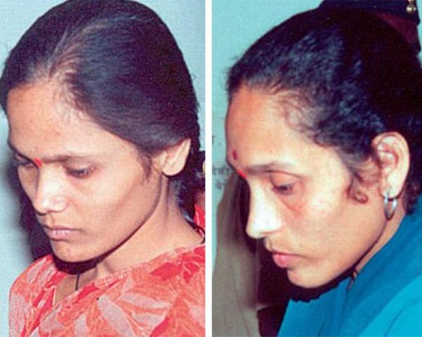 India women hanging