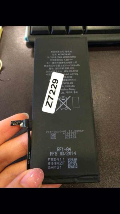 5.5-inch iPhone 6 will be called 'iPhone 6L' and Feature Massive 2,915 mAh Battery