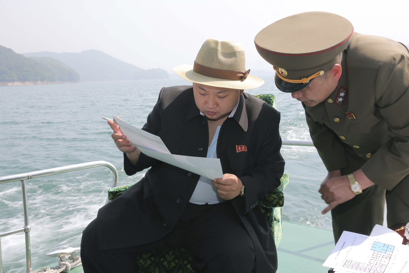 Kim Jong Un inspects scientists resort plans
