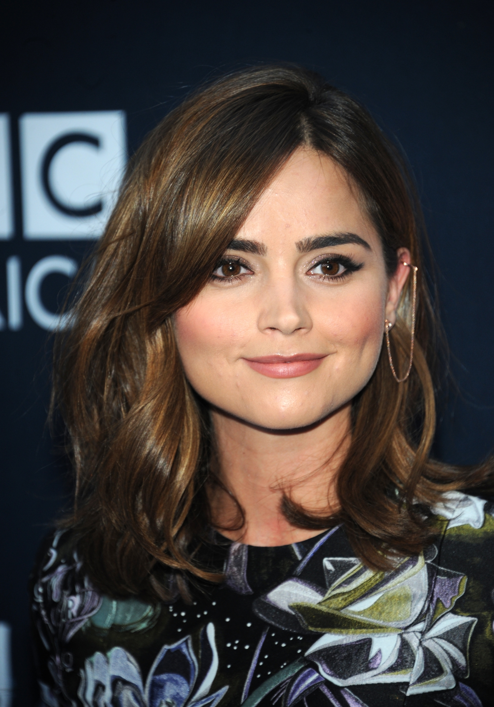 Jenna Coleman attends BBC America's 'Doctor Who' Premiere Fan Screening at Ziegfeld Theatre, New York