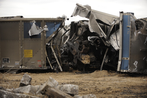 Union Pacific Train Crash