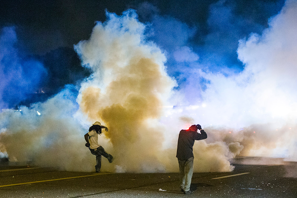ferguson tear gas