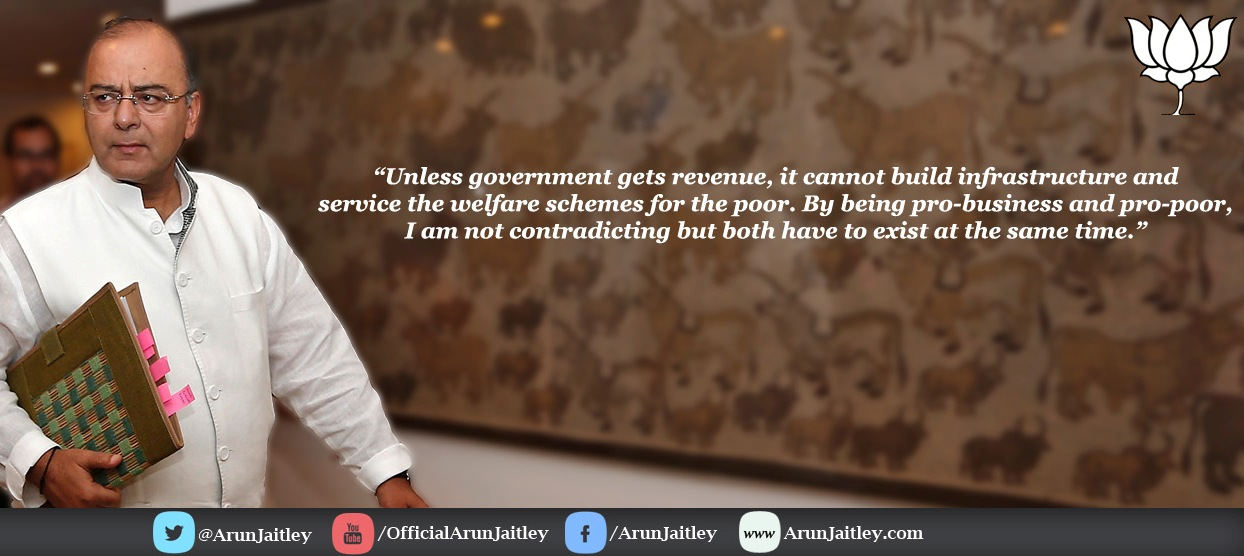 India Finance Minister Arun Jaitley FB Page