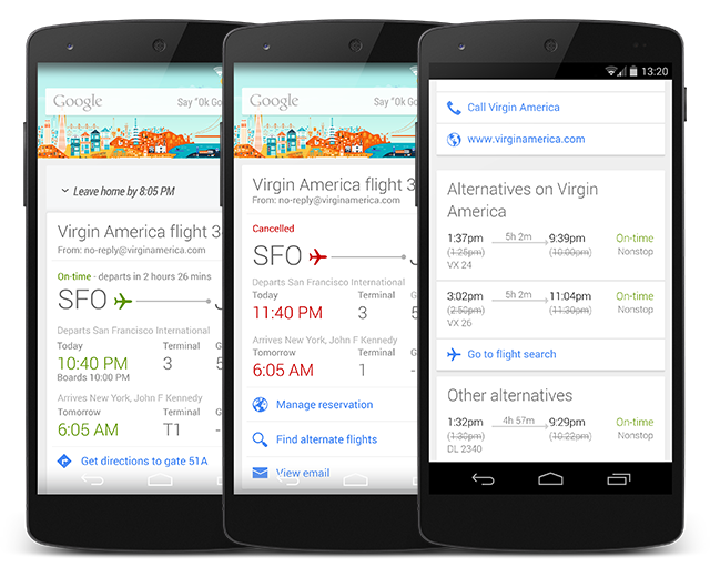 Google Now for Android Updated to Help You Find ...