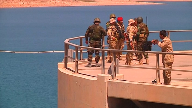 Peshmerga Confirm Full Control over Mosul Dam