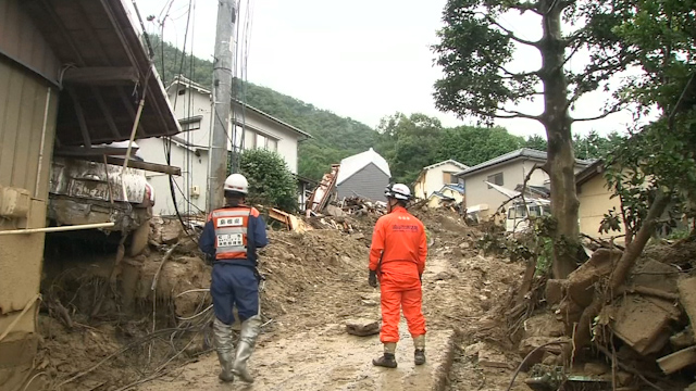 Nearly 90 Feared Dead in Hiroshima Landslides