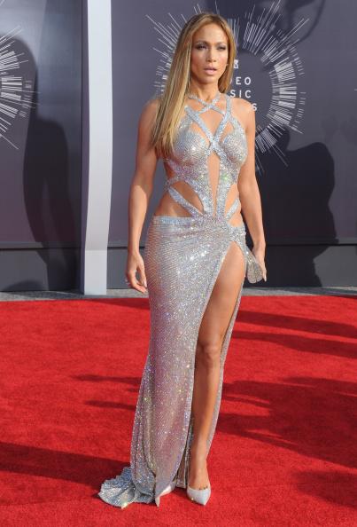 Jennifer Lopez In Charbel Zoe 2014 Mtv Video Music