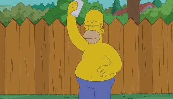 Watch Homer Simpson Complete The Als Ice Bucket Challenge