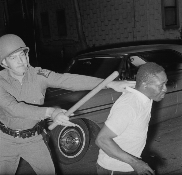1960s police brutality harlem riot of 1964 Riots broke out in an la neighborhood just as the president's power was  starting to wane  a 1965 failure that still haunts america  the near-fatal  incident occurred when he was autographing copies of his book at a harlem  bookstore  los angeles following community frustration with police brutality.