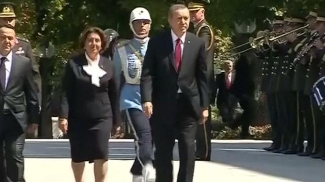 Erdogan sworn in as Turkey's President
