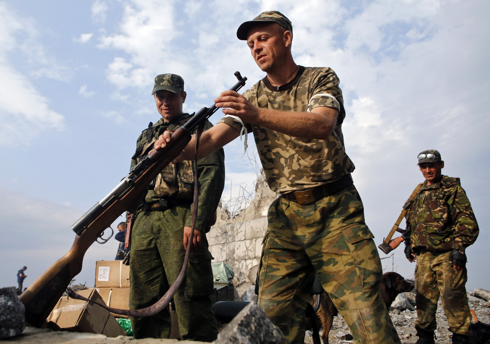 Russia Begins 'Full-Scale Invasion' of Ukraine as World Leaders Scramble