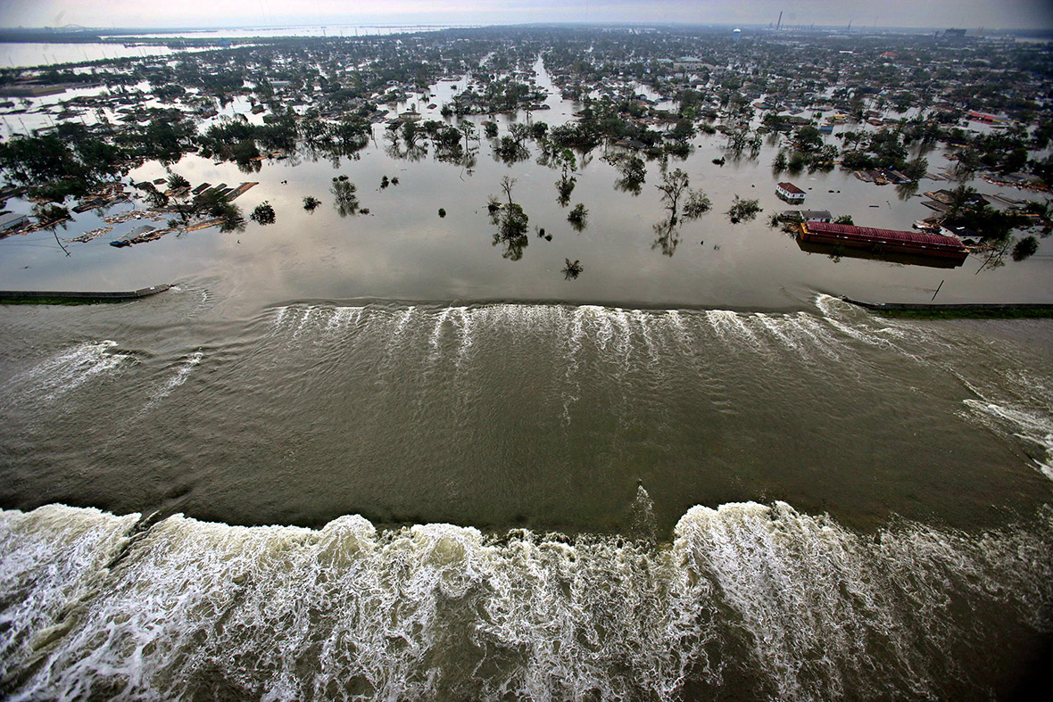 ... gallery, we look back at the devastation caused by Hurricane Katrina