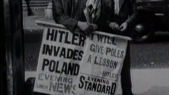 Archive Footage Captures Outbreak of World War II