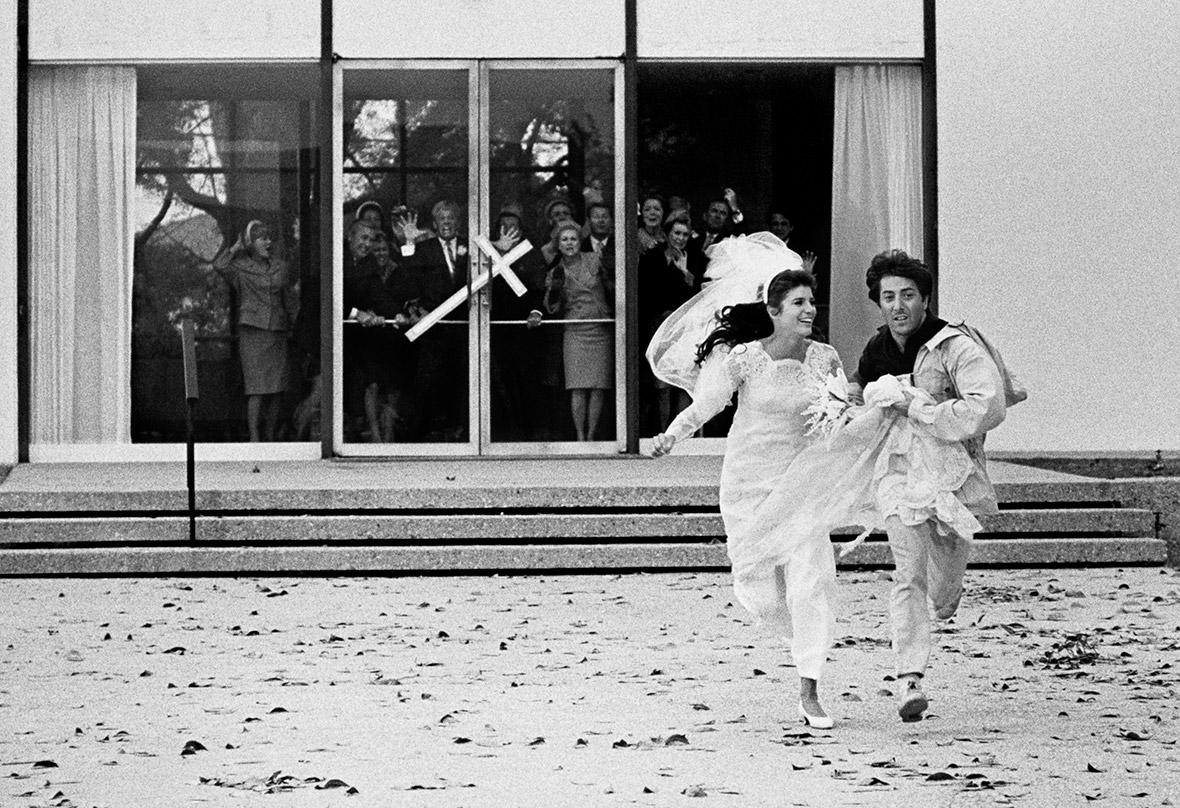 Dustin Hoffman and Katharine Ross, 1967