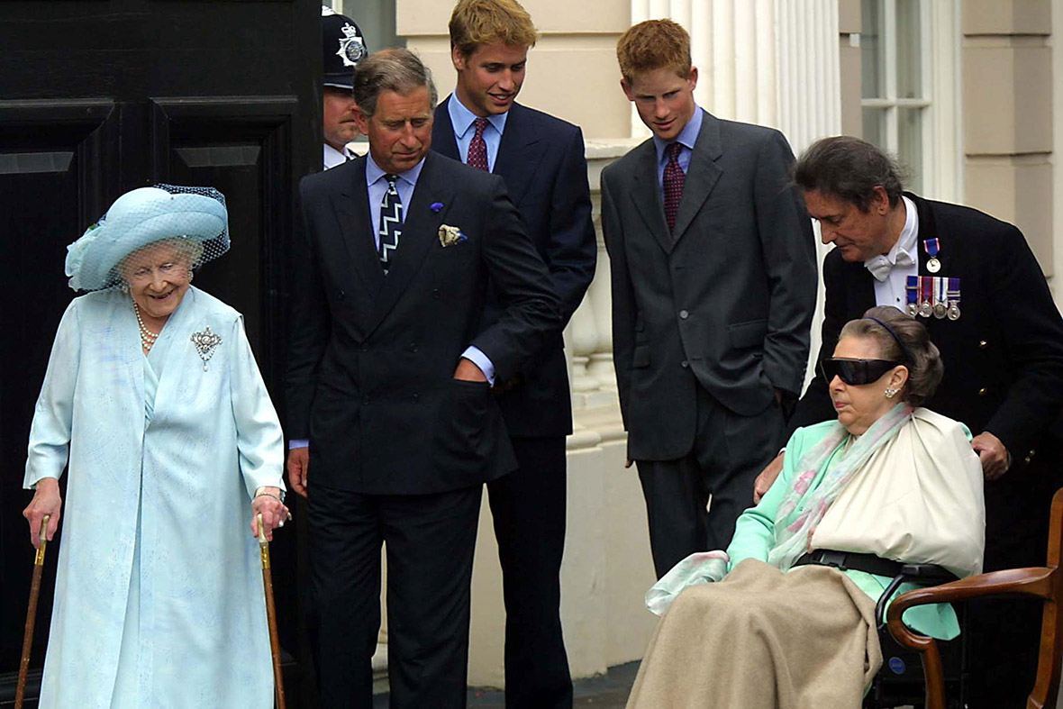 The gallery for --> Princess Margaret Funeral Queen Mother