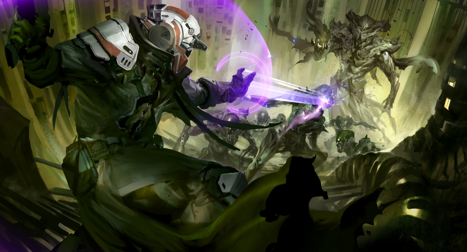 Destiny gorgeous concept art from bungie s epic sci fi shooter