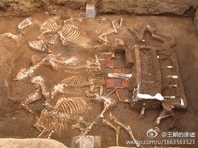 China Ancient Tomb Of First Emperor Qin Shi Huang S