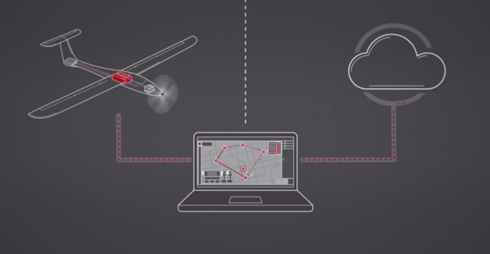 Airware's platform allows third party developers to hook their software up for the drones
