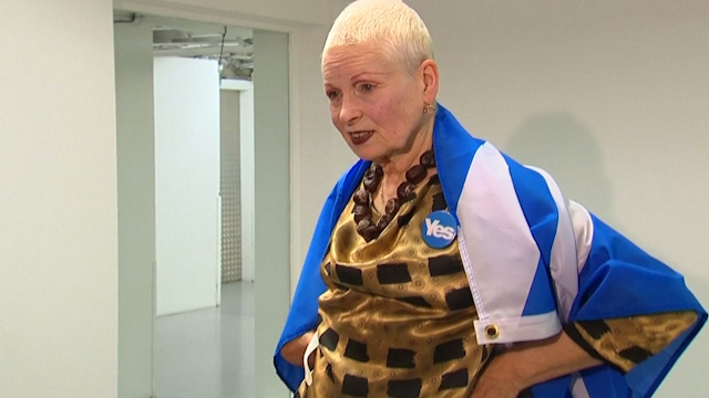 Fashion Legend Vivienne Westwood Backs Scottish Independence