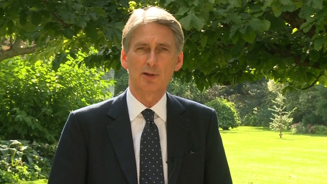Philip Hammond: UK Will Play 'Leading Role' Against Isis