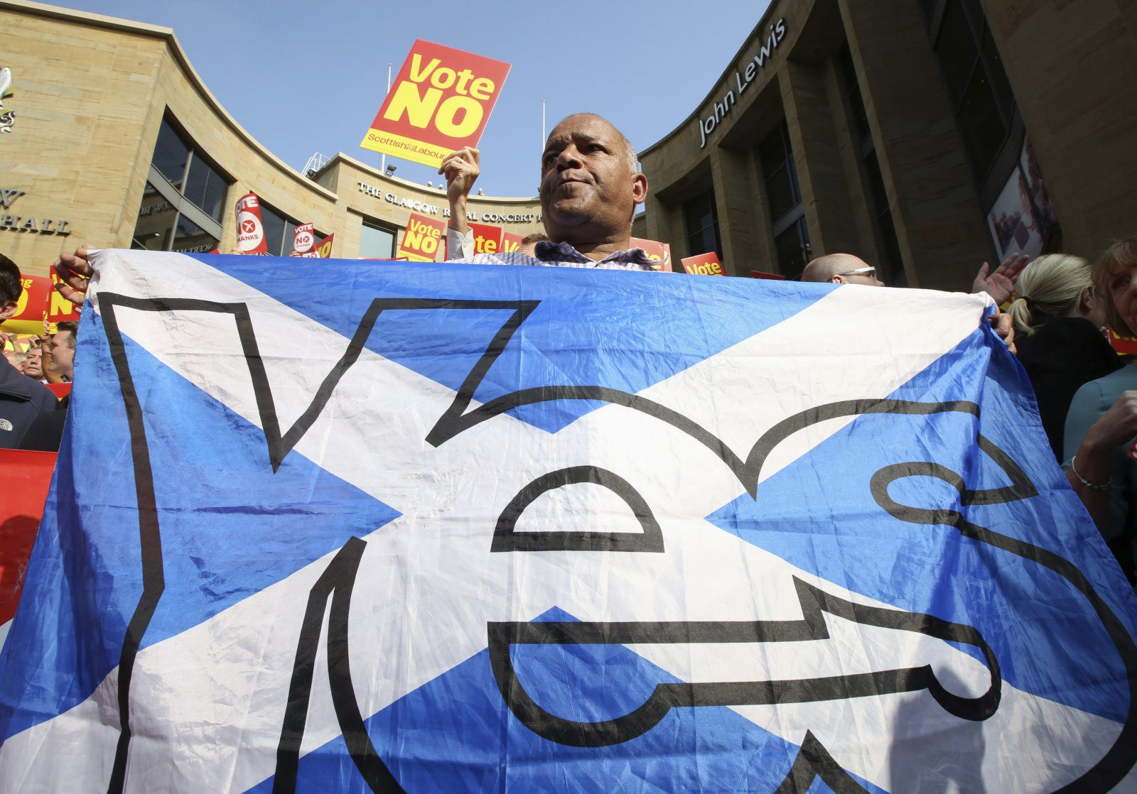 Scottish Independence: Polls say No but Glaswegians Say Yes