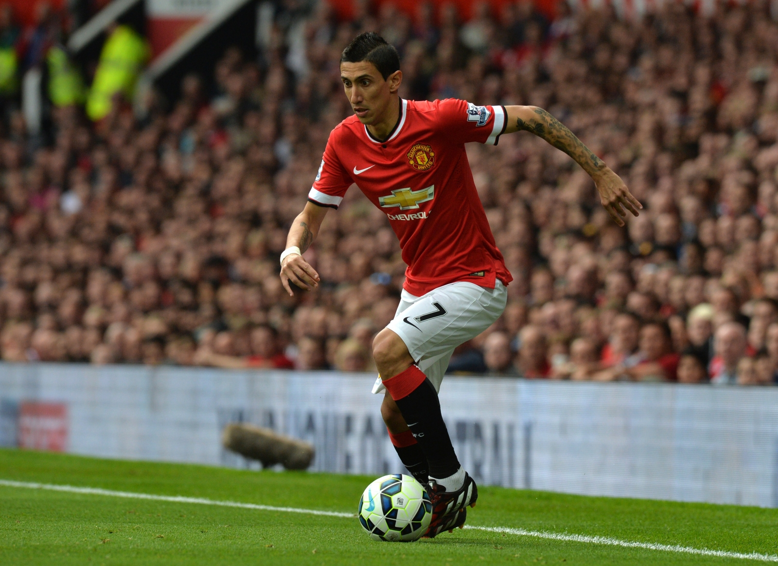Angel Di Maria Grateful for Louis van Gaal